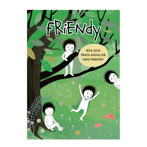 Bild på omslag Rita och prata känslor med Friendy
