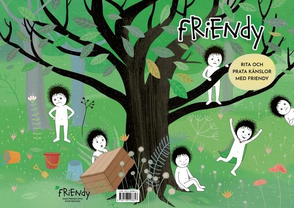 Bild av omslaget till Rita och prata känslor med Friendy